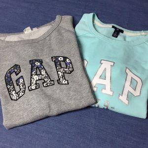 GAP crewneck sweatshirts